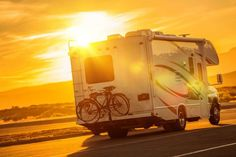Buy RV Camper Boondocking by duallogic on PhotoDune. RV Camper Boondocking on the Public Parking. Travel Trailer Tires, Camping Trailers, Luxury Rv Resorts, Rv Clubs, Campervan Hire, Rv Rental, On The Road Again, Camping World, Rv Travel