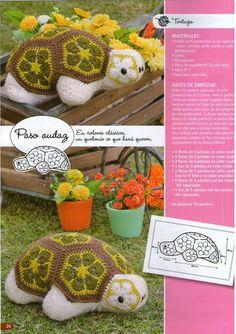 Tortuga de crochet. http://knits4kids.com/collection-en/library/album-view?aid=38756