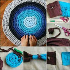 Textilgarn zusammenfügen