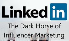 Why arent influencers making more use of LinkedIn? Contributor Kirsty Sharman…