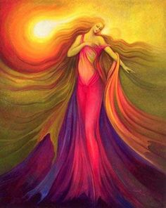 Colorfull Angel