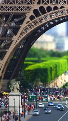 Eiffel Tower Paris. I guess I never really pictured it to be so big!