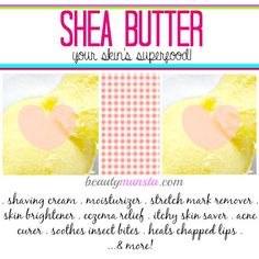 ∆ Shea Butter...15 Shea Butter Benefits for Skin...Shea butter is a multi-purpose beauty product. You might start choosing it over coconut oil like I do sometimes!
