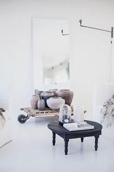 Vitt i vardagsrummet (via Bloglovin.com )