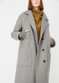 Winter Outerwear Top Tips. Seasonal Style Guide Oversized coats are a timeless design of coa Red Trench Coat, Classic Trench Coat, Oversized Coat, Anorak Jacket, Double Breasted Coat, Wool Coat, Winter Coat, Coats For Women, Timeless Design