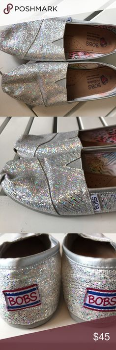 ❤️BOBS❤️ Brand new sparkle Bob's 100% leather sole. Super fun. Live, love❤️ Bobs Shoes Flats & Loafers