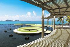 KOH SAMUI | A swimming pool at W Retreat hotel on Koh Samui island, Thailand | via cntraveller.com
