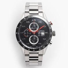 Carrera Time Machine watch by Nendo and TAG Heuer