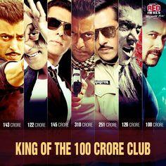 King of the 100 crore club Movie Teaser, Golden Heart, King Of Hearts, Big Big, Births, Salman Khan, Bollywood Stars, No One Loves Me, Superstar