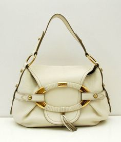 b96a618917 Giveaway to Win a Tod s White Leather Shoulder Bag Purse Handbag ends 7 15  WW