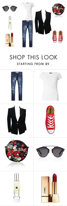 Designer Clothes, Shoes & Bags for Women Jo Malone, Polyvore Outfits, Balmain, Christian Dior, Converse, Bird, Shoe Bag, Free, Collection