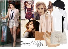 """""""Emma Watson Look"""" by musicmylife12 ❤ liked on Polyvore"""