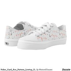 Poker_Card_Ace_Pattern_Lowtop_Unisex_Zipz_Sneakers Printed Shoes