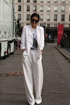 Wide Leg Pants. #style #fashion #widelegpants #workwardrobe #personalshopper #wardrobestyling