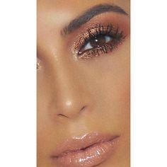 "49 Likes, 3 Comments - Kim Kardashian Snapchats (@kimksnapchats) on Instagram: ""Glam Up - Ultralight Beams in Rose Gold & Iridescent #kimkardashian #kkwbeauty @thevoguenow"""
