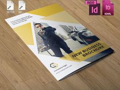 Check out InDesign Corporate Brochure by Template Shop on Creative Market