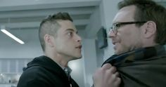This Mr. Robot Supercut Proves What You Knew All Along [August 2015] #MrRobot #RamiMalek #ChristianSlater #Vulture