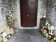 Church Fashion, Church Ceremony, Fresh Flowers, Rustic Wood, Vip, Lanterns, Entrance, Weddings, Decor