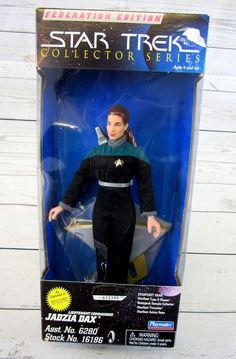 Star Trek Federation Edition Jadzia Dax Action Figure Playmates 1997 #Playmates #Federation #Jadzia #Dax #JadziaDax #Action #Figure #ActionFigure # 1997 #Star #Trek #StarTrek