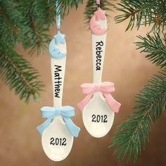 Baby Spoon Ornament