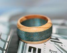 Wood Women Ring, Wood Ring, Women Wood Ring, Green Ring, Stabilized wood Ring, Wood Band, Wooden Ring, Wooden Jewelry, Boho Rings - Edit Listing - Etsy