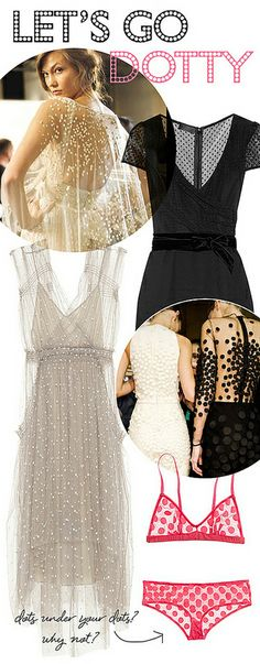 dots & tulle