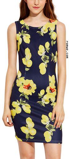 ASOS Mini Sexy Pencil Dress in Dark Floral Print | Spring Divine ...