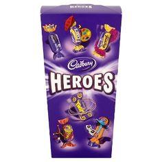 Cadbury Heroes Chocolate Carton 200g British Chocolate, Chocolate Box, Snack Recipes, Snacks, Pop Tarts, Packaging, Sweets, Ebay, Snack Mix Recipes