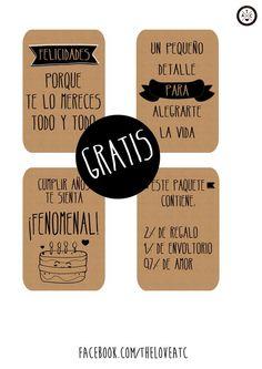 www.facebook.com/theloveatc #regalos #originales