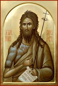 Religious Icons, Religious Art, Jean Baptiste, Byzantine Icons, Orthodox Christianity, Saint Jean, John The Baptist, High Art, Orthodox Icons