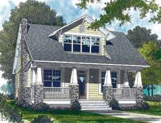 00bca4918a28d69f05c088138f3a0640 craftsman style homes craftsman home plans plan 6903am craftsman home plan with bonus room craftsman and,Storey And A Half House Plans