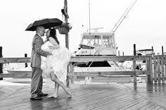 NJ Beach Wedding at The Channel Club | Contemporary Bride Magazine