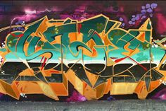 Nice color scheme and letters in this new piece from Stae.