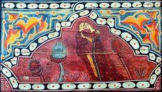 Amantes (31 x 18). Detalhe da decoração do teto (em madeira) do claustro da abadia de Sto. Domingo de Silos (século XV - Burgos). - See more at: http://www.ricardocosta.com/artigo/entre-pintura-e-poesia-o-nascimento-do-amor-e-elevacao-da-condicao-feminina-na-idade-media#sthash.b53H6gw0.dpuf