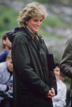 """Princess Diana in a fab Barbour coat!  code name: drédin: [ The """"It List"""" ] Coat Edition"""