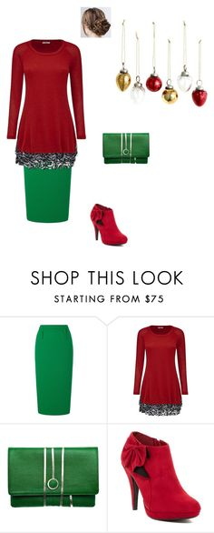 """""""wrapping presents 2"""" by modest-flute ❤ liked on Polyvore featuring Roland Mouret, Joe Browns, Torula Bags, Impo and H&M"""