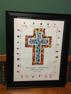 Class Art Projects for Auction | Thumbprint art- I like the thumbprint boarder instead of listed at the ...