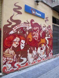 Barrio del Carmen  Valencia Spain