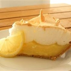"""Grandma's Lemon Meringue Pie 