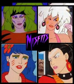 The Misfits From Jem. Miss all those 80's cartoons :)
