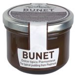 TartufLanghe's Bunet Dessert Sauce .   Bunet is the typical dessert of the Piedmontese culinary tradition, made with cocoa and amaretti almond cookies. The Panna cotta, as well as the Bunet, is to be stored at room temperature. Delicious with strawberries, raspberries or blackberries.  Biscuits are also a part of the piemontese pastry tradition. They are excellent with tea or ice cream and they can be combined with the moscato wine cream. Dessert Sauces, Desserts, Moscato Wine, Almond Cookies, Blackberries, Gourmet Recipes, Strawberries, Cocoa, Panna Cotta