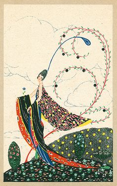 Art deco postcard by Chilton Longley | Flickr - Photo Sharing!
