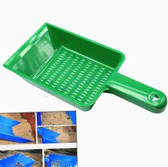 D DOLITY 10 pcs Pet Hamster Sand Waste Scooper Shovel Litter Scoop Cleaning Tool
