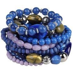 PIECES Bracelet ($75) ❤ liked on Polyvore