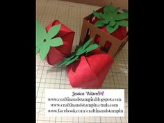 Close To My Heart Artiste Strawberries with Cricut Explore! - YouTube
