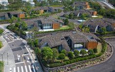 A ilha de Jeju ganha complexo de Kengo Kuma