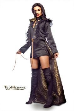 Ringmaster Tail Coat from Etsy.