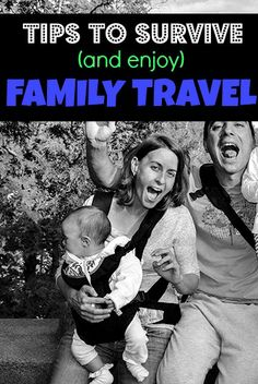 Tips to survive (and enjoy) your next family trip #family #travel #travelwithkids  http://www.chasingthedonkey.com/family-trip-tips/