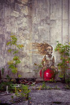 Street Art in Chernobyl