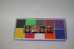 vendelinea KIT maquillaje pintacaritas base aceite, no toxico $350